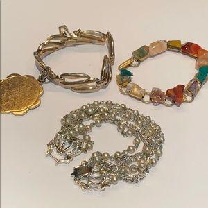 Vintage bracelet lot of 3